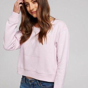 [CK Calvin Klein] Pink Logo Crew